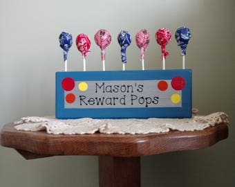 Potty Pops - Reward Pops - Personalized