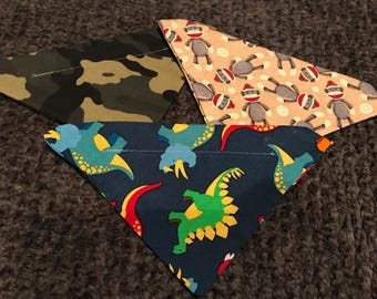 Adorable dog bandana bundle! Set of 3!