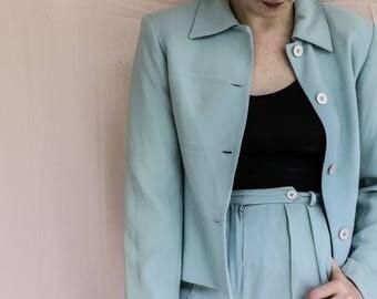 Kenar Full Pant Suit: Size 4, Vintage