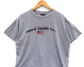 Vintage Polo Jeans By Ralph Lauren T-shirt