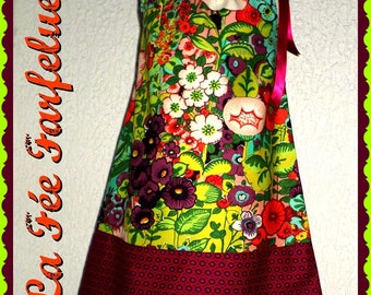 Dress ZELIE Ribbon from 2 to 10 years