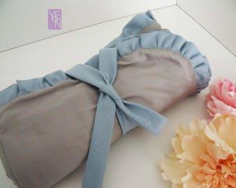 Lovely Afghan blanket baby Cotton satin