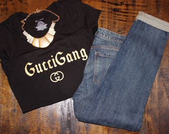 Gucci gang shirt - Gucci shirt - Gucci Gang - women's shirt - Gucci