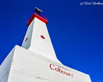 Photography Lighthouse Blue Sky Print