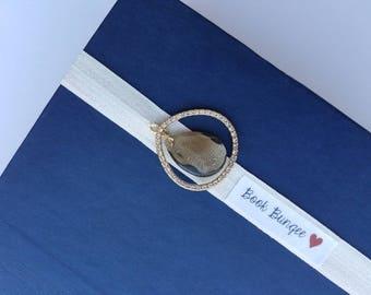Stylish Bookmark Teardrop Jewel Bookmark Book Nerd Gift