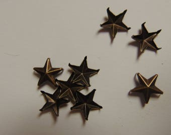 Stars claw bronze 10mm