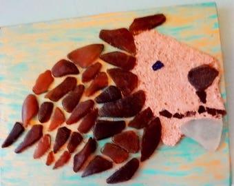 Sea Glass and Sand Wall Art