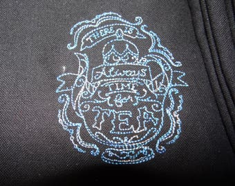 Great man or woman embroidered apron