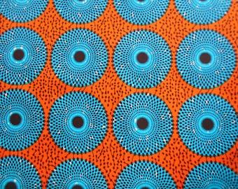 Wax fabric African loincloth coupon 90cm x 116cm