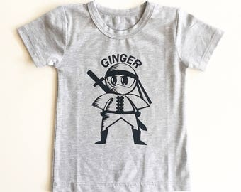 Ginger Ninja / Red head / ninja