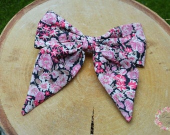 Chive pink liberty Barrette