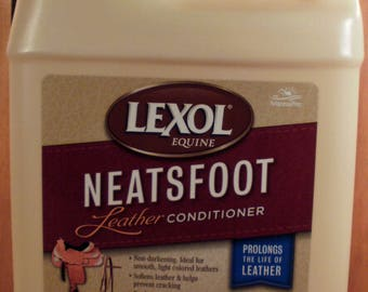 Lexol Neatsfoot Leather Conditioner 1 liter #8529