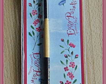 beveled alcohol ink or other brush