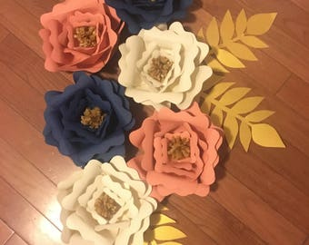 Small Giant Paper Flowers