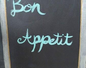 Bon appetit painting