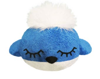 Handmade little plush Blue Bird