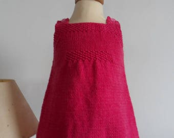 Fuschia - 3 month old daughter strap dress