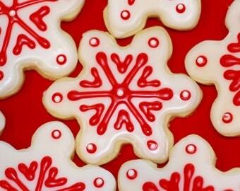 Snowflake Cookies, Christmas Cookies