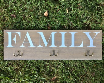 Family Coat Rack | Coat Hook