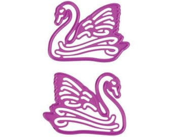 Die cut Joy Crafts bird Swan new