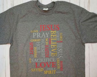 Jesus Words Tee