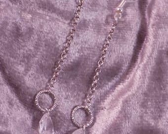 "Earrings ""Diamond"" Creat'Y. O.N - stylish & feminine-"