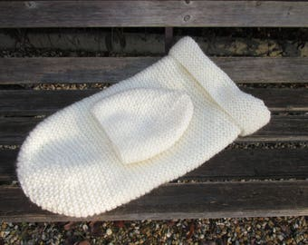 Cocoon baby or sock swaddling (made to order)