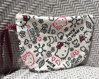 Hello Kitty Medium Size Handy Pouch