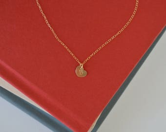 The Kati - Small Heart Charm Necklace