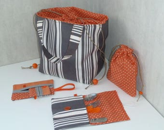 Picnic ticking bag and accessories