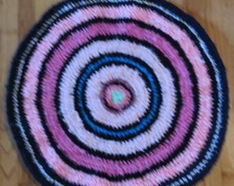 Pink Rag Rug