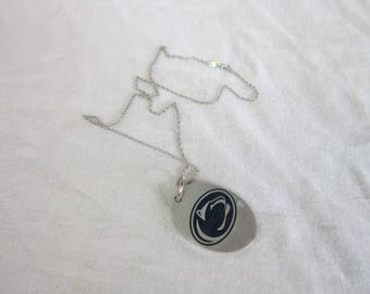 Vintage Penn State Nittany Lions Necklace & Pendant Fine Pewter