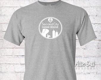Classic Crew T-Shirt (Adult Unisex) - Circle Logo