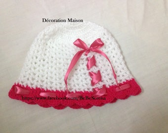 Crochet girls crochet Hat