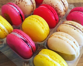 French Macarons Gift box, Gluten Free, Birthday gifts, Wedding Favours, Dessert tables, Macaron Tower, new home gifts, Gifts for her,