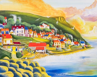 Golden Sunrise Runswick Bay - Prints