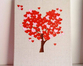 """Love tree"" canvas"