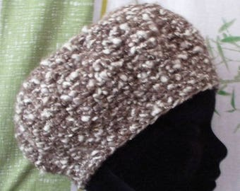 Child 4-5 years-'snow hat brown' Hat