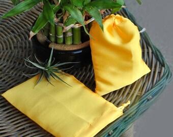 Sachet bag satin for jewelry-small satin jewelry bag