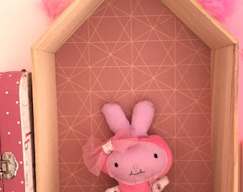 "Cute little plush ""Lilirose-tulle"""