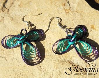 Women bamboo earrings
