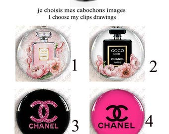 choose clip-on Chanel eyeball cabochons adjustable wife, daughter, combinations possible.