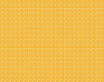 Vintage orange fabric