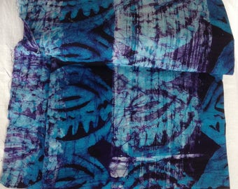 Multicolored batik cloth printed cotton 100% color for sewing clothing creations sewing notions