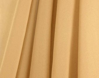 """60"""" Wide - High Quality 100% Polyester Chiffon Sheer Fabric - GOLD"""