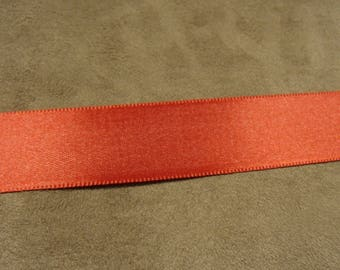 Satin - 2.5 cm - Red Ribbon