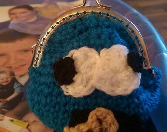 Cookie Monster purse