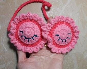 Crochet Sleep Mask, Owl Sleep Mask, Kids Sleep Mask,Sleep Mask