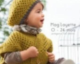 Bergère DE FRANCE number 165 Layette patterns magazine