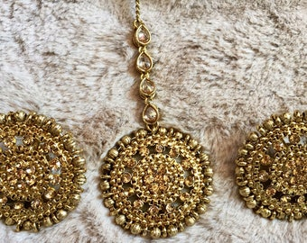 Indian Jhumka, Chandbali Earrings, Indian Earrings, Gold Jhumka,Kundan Jhumki,Indian Jewelry,Bollywood Tikka, Jhumki Kundan Polki Studs, USA